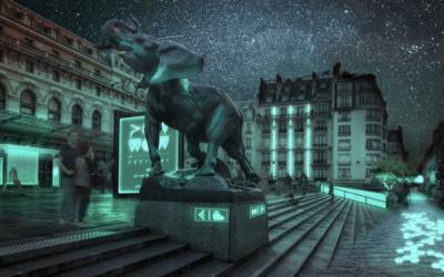 Glowee, un système d'éclairage des villes sans électricité
